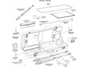 GEWA Cases Viola case Idea 3.4 Bow holder