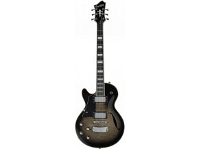 HAGSTROM Super Swede-F Left Hand - Cosmic Blackburst