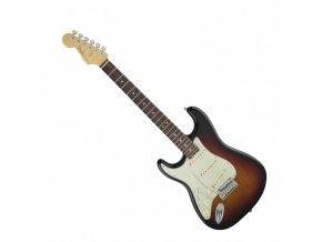Fender American Elite Stratocaster Left-Hand, Rosewood Fingerboard, 3-Color Sun