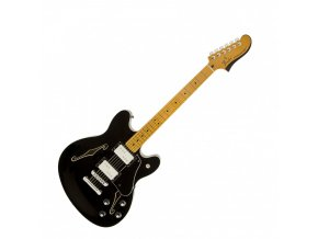Fender Starcaster, Maple Fingerboard, Black