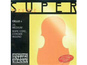 Thomastik Strings For Cello Superflexible rope core Soft