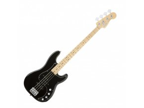 Fender American Elite Precision Bass, Maple Fingerboard, Black