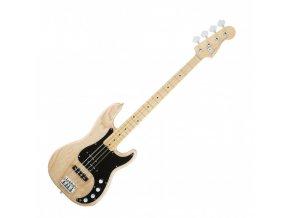 Fender American Elite Precision Bass Ash, Maple Fingerboard, Natural