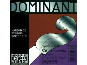 "Thomastik Strings For Viola d'amore Dominant D"""