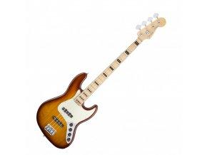 Fender American Elite Jazz Bass Ash, Maple Fingerboard, Tobacco Sunburst