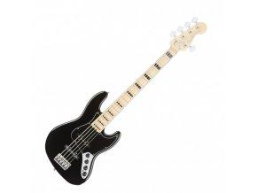 Fender American Elite Jazz Bass V, Maple Fingerboard, Black