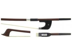 GEWA Double bass bow GEWA Strings Brasil wood Student 1/2