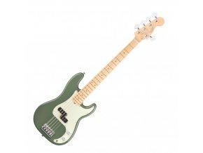 Fender American Pro Precision Bass V, Maple Fingerboard, Antique Olive