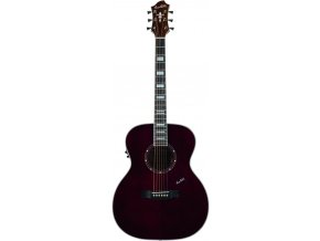 HAGSTROM Siljan Custom Grand Auditorium E - Black Cherry