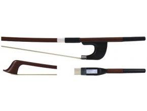 GEWA Double bass bow GEWA Strings Brasil wood Student 1/4