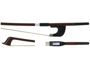 GEWA Double bass bow GEWA Strings Brasil wood Student 1/8
