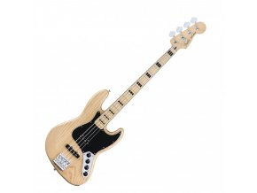 Fender Deluxe Active Jazz Bass, Maple Fingerboard, Natural