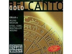 Thomastik Strings For Cello Belcanto Gold Medium