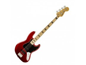 Fender Vintage Modified Jazz Bass '70s, Maple Fingerboard, Candy Apple Red