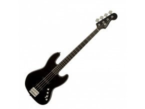 Fender Deluxe Jazz Bass IV Active (4 String), Ebonol Fingerboard, Black