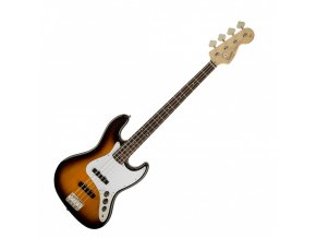 Squier Affinity Jazz Bass, Rosewood Fingerboard, Brown Sunburst