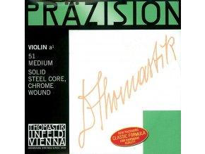 Thomastik Strings For Violin Precision steel solid core E Plain