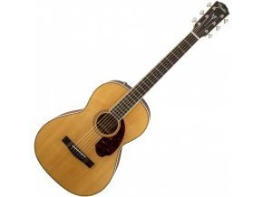 Fender PM-2 Standard Parlor with Case, Natural