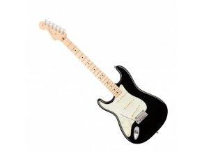 Fender American Pro Stratocaster Left-Hand, Maple Fingerboard, Black