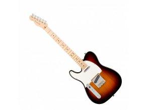 Fender American Pro Telecaster Left-Hand, Maple Fingerboard, 3-Color Sunburst
