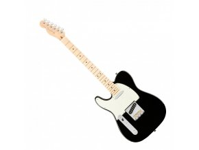Fender American Pro Telecaster Left-Hand, Maple Fingerboard, Black