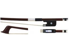 GEWA Double bass bow GEWA Strings Brasil wood French 1/2