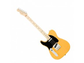 Fender American Pro Telecaster Left-Hand, Maple Fingerboard, Butterscotch Blond