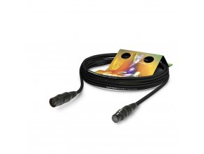Sommer Cable Hybrid Kabel Kolorith Mini,Black, 5,00m