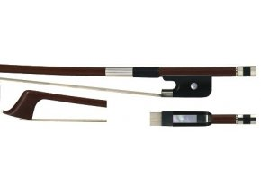 GEWA Double bass bow GEWA Strings Brasil wood French 3/4