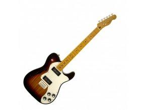 Fender Modern Player Telecaster Thinline Deluxe, Maple Fingerboard, 3-Color Sun