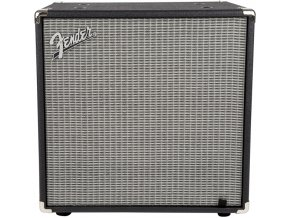 Fender Rumble 112 Cabinet, Black/Silver