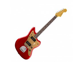 Squier Deluxe Jazzmaster, Rosewood Fingerboard, Candy Apple Red
