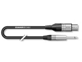 Sommer Cable MC The Stage, Black, 1,00m