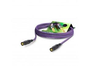 SOMMER Netzwerkkabel CAT7 PUR, violett, 0,50m