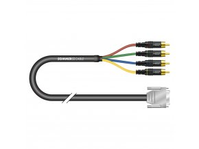 Sommer Cable VMC Transit Mini Flex, Black, 7,50m