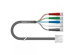 Sommer Cable VMC Transit Mini Flex, Black, 0,50m