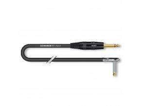 Sommer Cable IC Spirit Zilk 1x0,25qmm, Black, 6,00