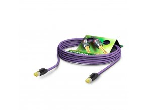 SOMMER Netzwerkkabel CAT7 PUR, violett, 1,00m