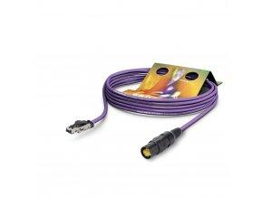 SOMMER Netzwerkkabel CAT7 PUR, violett, 10,00m