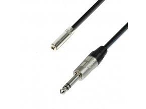Adam Hall Cables K4 BYV 0600 - Kopfhörerverlängerung 3,5 mm Klinkenbuchse stereo