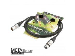 Sommer Cable EG1B; XLR / XLR; 6m; Black