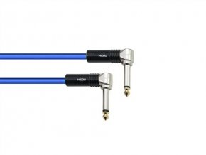 SC TX9M; Jack 90- / Jack 90-; 0,3m; modrř