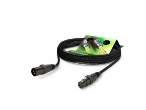 Sommer Cable MC The Source, Black, 10,00m