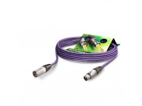 Sommer Cable MC The Stage, Purple, 1,00m