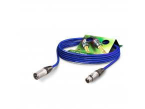 Sommer Cable MC The Stage, Blue, 2,50m