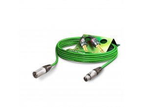 Sommer Cable MC The Stage, Green, 10,00m