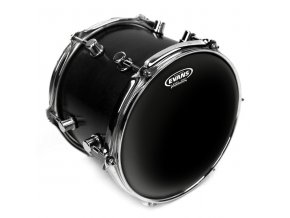 "EVANS 12"" Black Chrome CLR"
