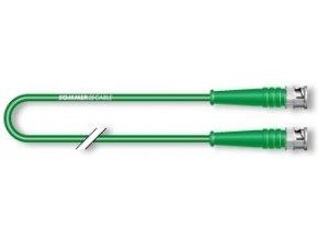 SC SNX4; BNC / BNC; 0,3 m; zelenř; zelenř