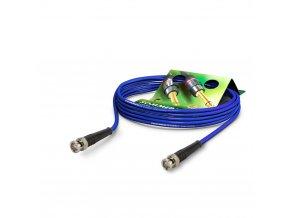 SOMMER Koaxkabel Vector, blau, 0,25m