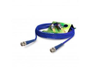 SOMMER Koaxkabel Vector, blau, 0,50m